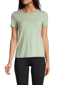 Casall Iconic Tee teknisk t-skjorte dame Grønn