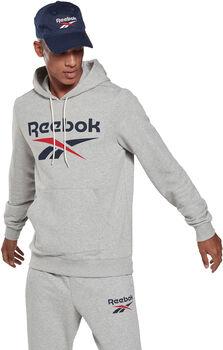 Reebok Identity Big Logo Hoodie hettegenser herre Grå
