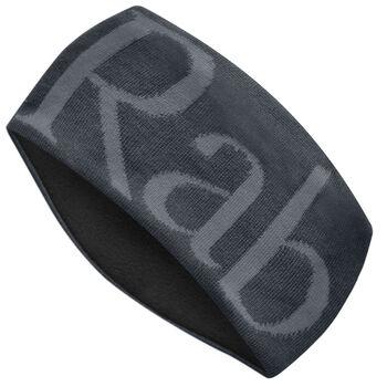 Rab Knitted Logo pannebånd Herre Svart