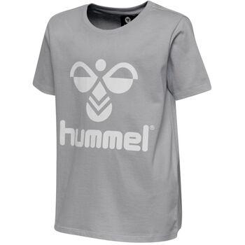 Hummel Tres Tee  S/S t-skjorte barn/junior Grå