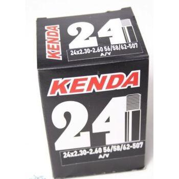 Kenda 24 Plus Bilventil 2.3-2.5 sykkelslange Flerfarvet
