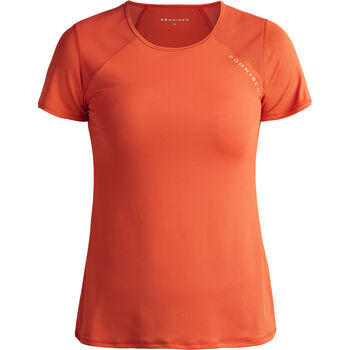 Röhnisch Asta Mesh teknisk t-skjorte dame Oransje