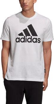 adidas Must Haves Badge of Sport t-skjorte herre  Hvit