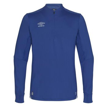 UMBRO UX Elite half zip treningsgenser junior Blå