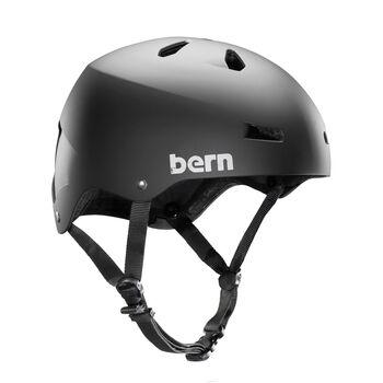 Bern Macon Team sykkelhjelm Herre Svart