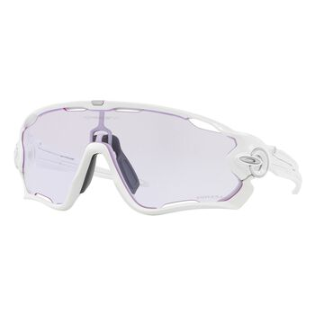 Oakley Jawbreaker Prizm™ Low Light - Polished White sportsbriller Herre Hvit
