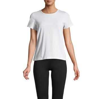 Casall Iconic teknisk t-skjorte dame Hvit