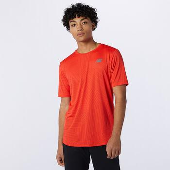 New Balance Q Speed Fuel teknisk t-skjorte herre Oransje
