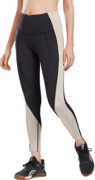 Lux High-Rise Colorblock tights dame