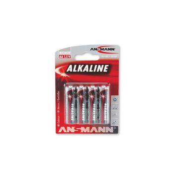 ANSMANN Redline AA batterier 4-pk Rød