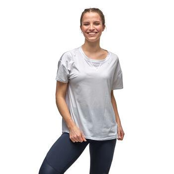KARI TRAA Kine t-skjorte dame Hvit