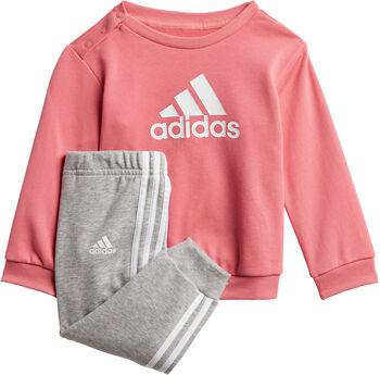 adidas Badge of Sport French Terry joggedress barn Gutt Rosa