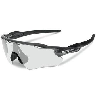 Radar EV Path Clear To Black Photochromic - Steel sportsbriller