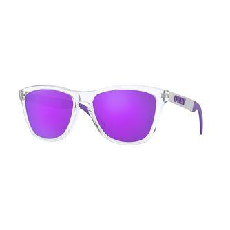 Frogskins Mix Violet Iridium Polarized - Polished Clear solbriller