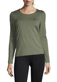 Casall Iconic Long Sleeve treningsgenser dame Grønn