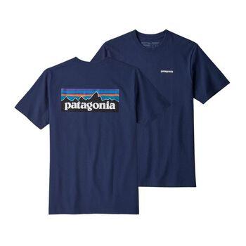 Patagonia P-6 Logo Responsibility t-skjorte herre Blå