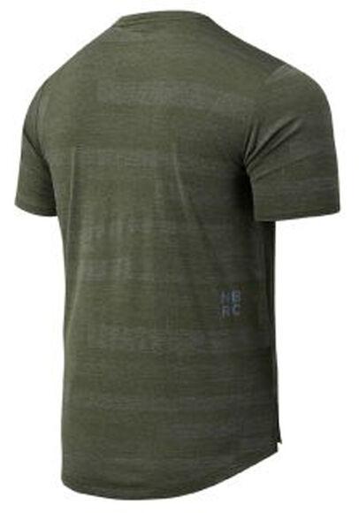 Q Speed Fuel Jacquard teknisk t-skjorte herre