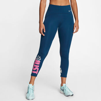 Nike Speed Icon Clash 7/8 tights dame Blå