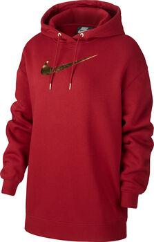 Nike Shine Sportswear hettegenser dame Rød
