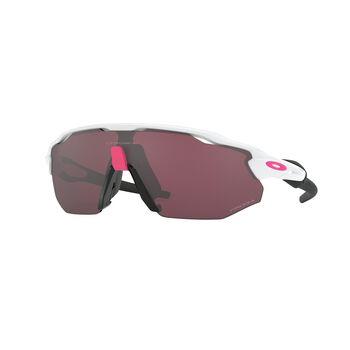 Oakley Radar EV Advancer Prizm™ Road Black - Polished White sportsbriller Herre Hvit