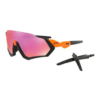 Oakley Flight Jacket Prizm™ Trail sportsbrille Herre Oransje