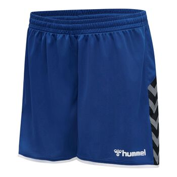 Hummel hmlAuthentic Poly shorts dame Blå