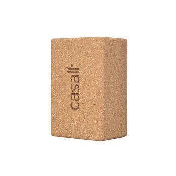 Casall Yoga Block Cork Large yogablokk  Hvit