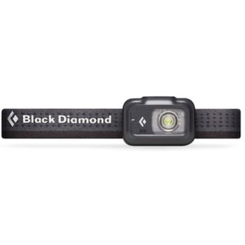 Black Diamond Astro 175 hodelykt Svart