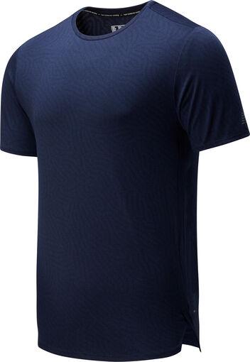 Q Speed Jacquard teknisk t-skjorte herre