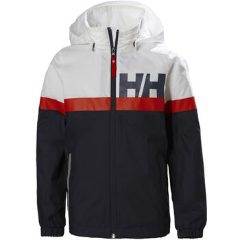 Helly Hansen Active Rain regnjakke junior Flerfarvet