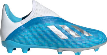 adidas X 19.3 Laceless fotballsko kunstgress/gress junior Blå