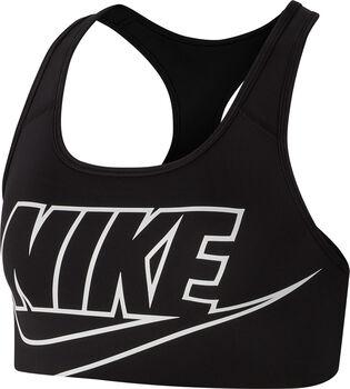 Nike Swoosh sports-BH dame Svart