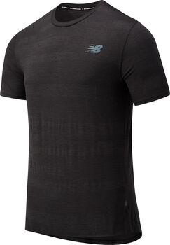 New Balance Q Speed Fuel Jacquard teknisk t-skjorte herre Svart