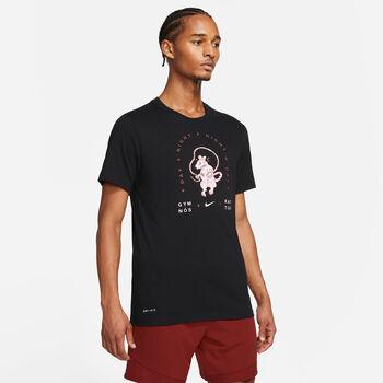 Nike Dri-FIT Graphic teknisk t-skjorte herre Svart