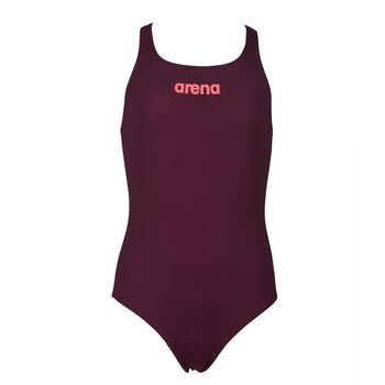 Arena Solid Swim Pro badedrakt barn/junior Lilla
