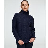 Lid strikkegenser dame