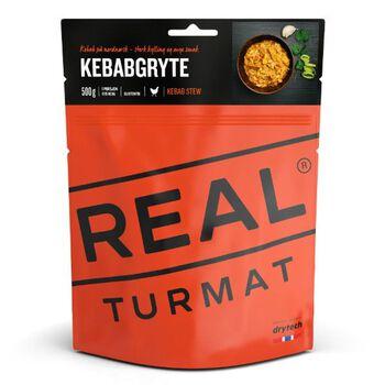 REAL turmat Kebabgryte 500 gram Rød