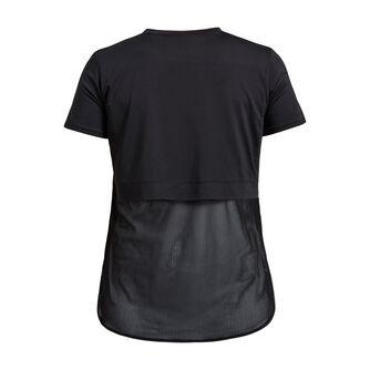Mesh Back teknisk t-skjorte dame
