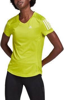 adidas Own the Run teknisk t-skjorte dame Gul