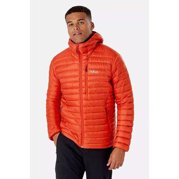 Rab Microlight Alpine dunjakke herre Oransje