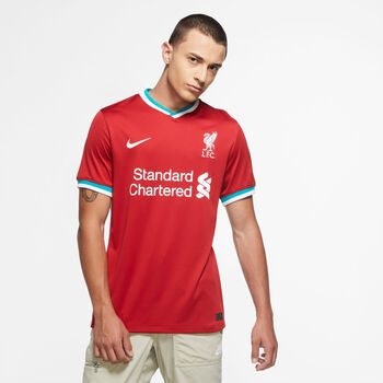 Nike Liverpool FC 20/21 hjemmedrakt fotballtrøye herre Rød