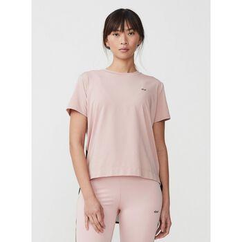 Röhnisch Mesh Back teknisk t-skjorte dame Rosa