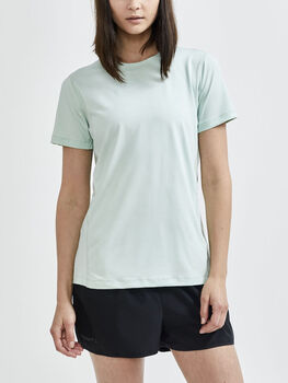 Craft Adv Essence Ss Tee teknisk t-skjorte dame Grønn