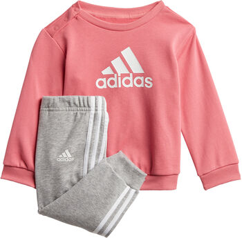adidas Badge of Sport French Terry joggedress barn Gutt Rosa