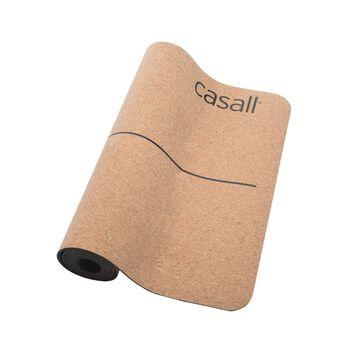Casall Natural Cork 5 mm yogamatte Brun