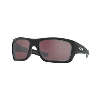 Oakley Turbine Prizm™ Snow Black - Polished Black solbriller Herre Svart