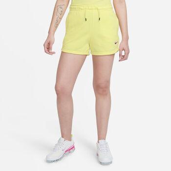 Nike Sportswear Essentials Print shorts dame Gul