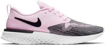 Nike Odyssey React 2 Flyknit løpesko dame Rosa