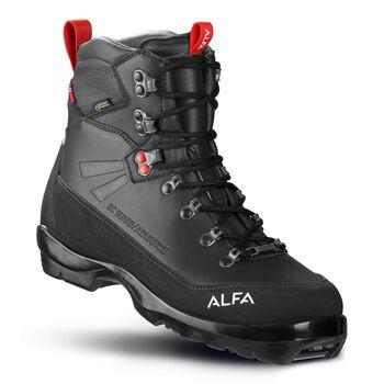 Alfa Guard Advance GTX fjellskistøvel dame Svart