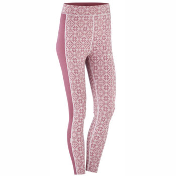 KARI TRAA Rose High Waist ullongs dame Flerfarvet